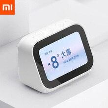 هاتف شاومي AI شاشة لمس بلوتوث 5.0 مكبر صوت شاشة عرض رقمية منبه سماعة ذكية رفيق 5000mAh حامل طاقة متحرك
