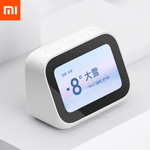 For Xiaomi AI Touch Screen Bluetooth 5.0 Speaker Digital Display Alarm Clock Smart Speaker Companion 5000mAh Move Power Holder