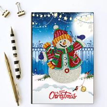 christmas diy Diamond Painting Notebook  A5 Diary Book Embroidery Sale Mosaic Pictures Gift