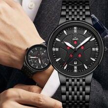 Часы наручные мужские кварцевые брендовые дизайнерские Роскошные