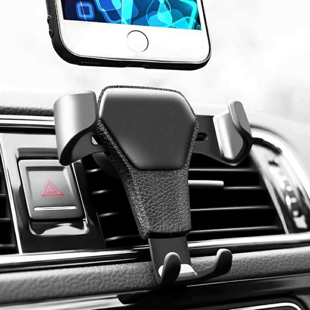 Gravity Car Holder For Phone In Car Air Vent Clip Mount No Magnetic Mobile Phone Holder Cell Stand Support For IPhone X 8