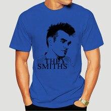 Camiseta de los Smiths, Maglietta Con Immagine Di Morrissey, Camiseta de algodón oscura ondulada personalizada para hombre, 1581X