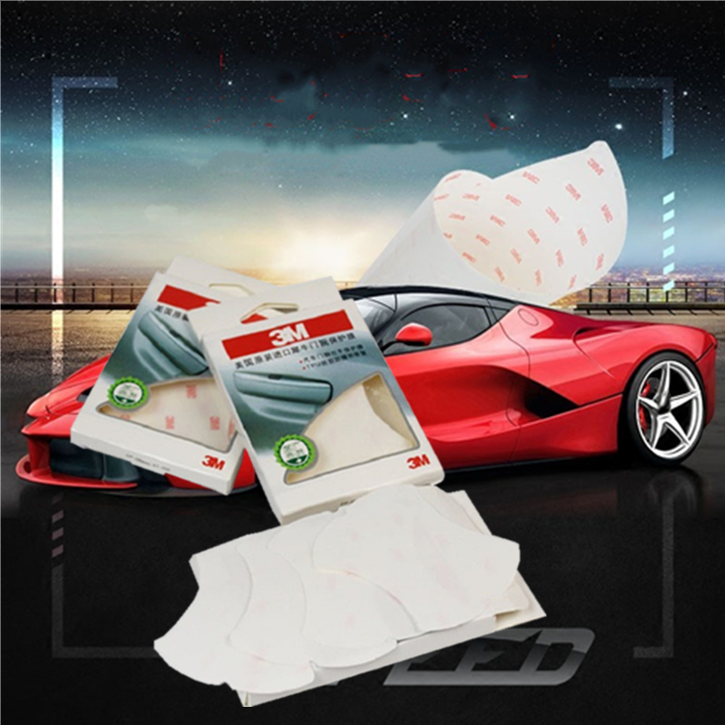 3M Universal car film Adhesive Scratch Protector Sticker Car Door Handle Protective car stickers and decals accesorios carro in Car Stickers from Automobiles Motorcycles