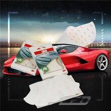 4 sztuk/zestaw 3M klamka do drzwi samochodowych ochronny uniwersalny klej Scratch Protector naklejka filmów samochodów naklejki i kalkomanie akcesoria samochodowe