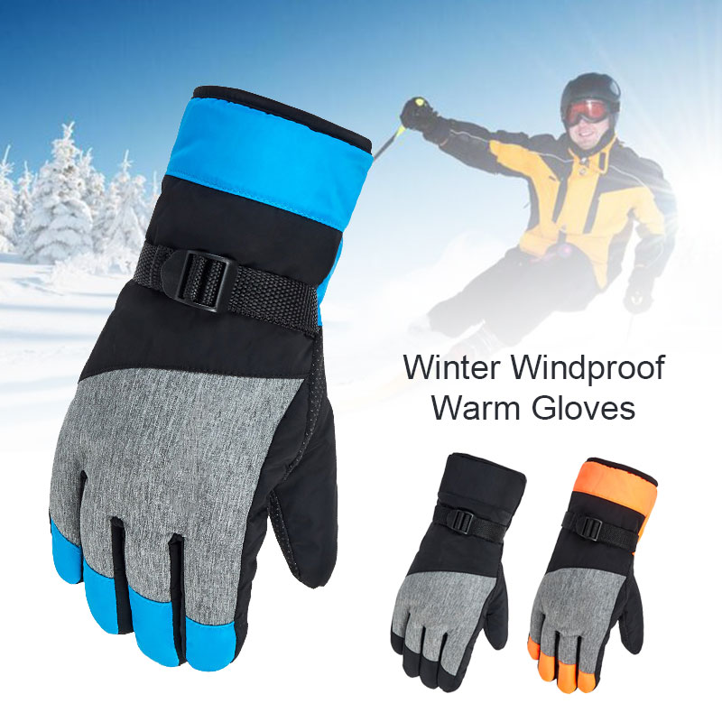 Touch Screen Ski Gloves Riding Glove Durable Bicycle Warm Gloves Non Slip Motorcycle Skiing Waterproof Winter Mobile Phone