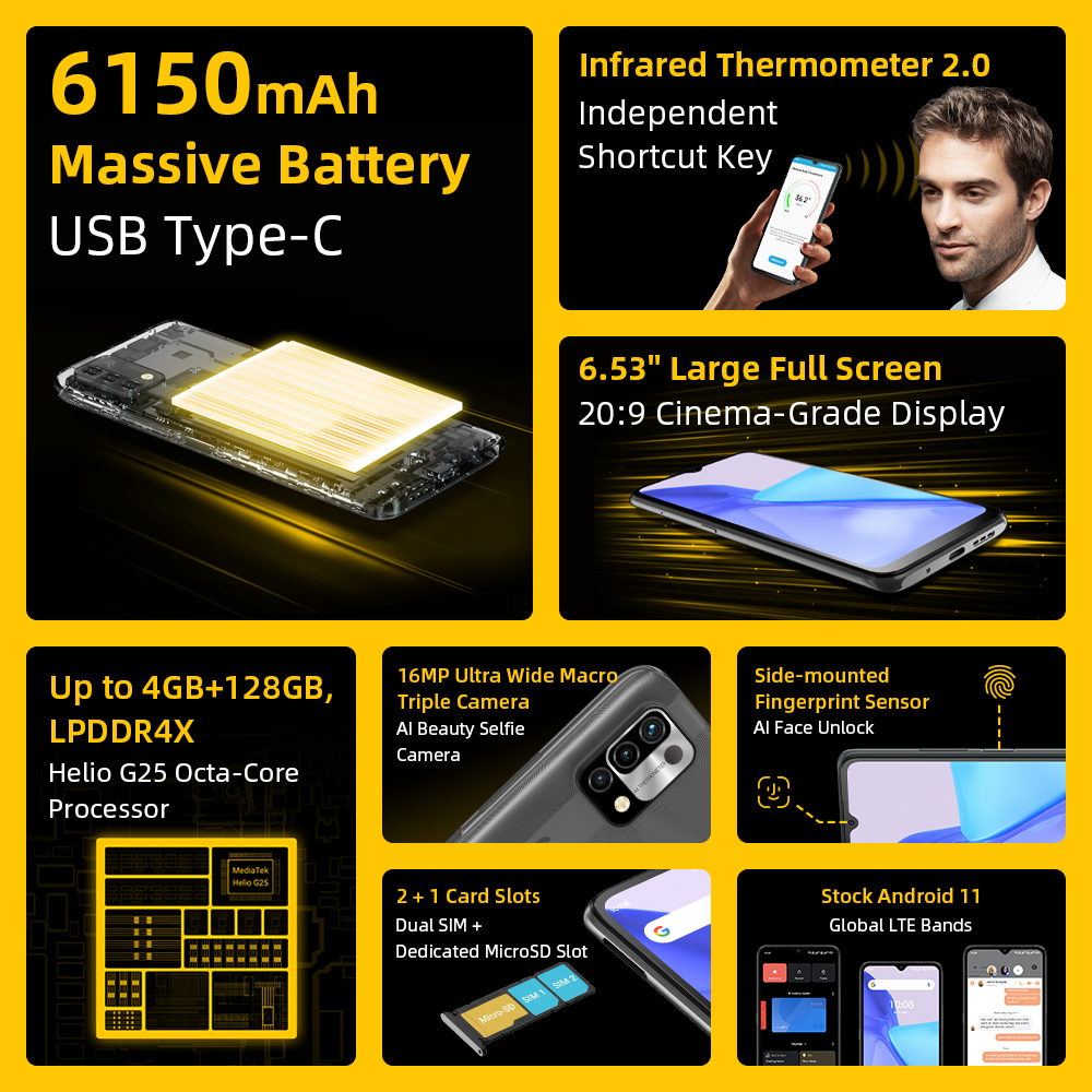 UMIDIGI Power 5 Global Version 128GB  2