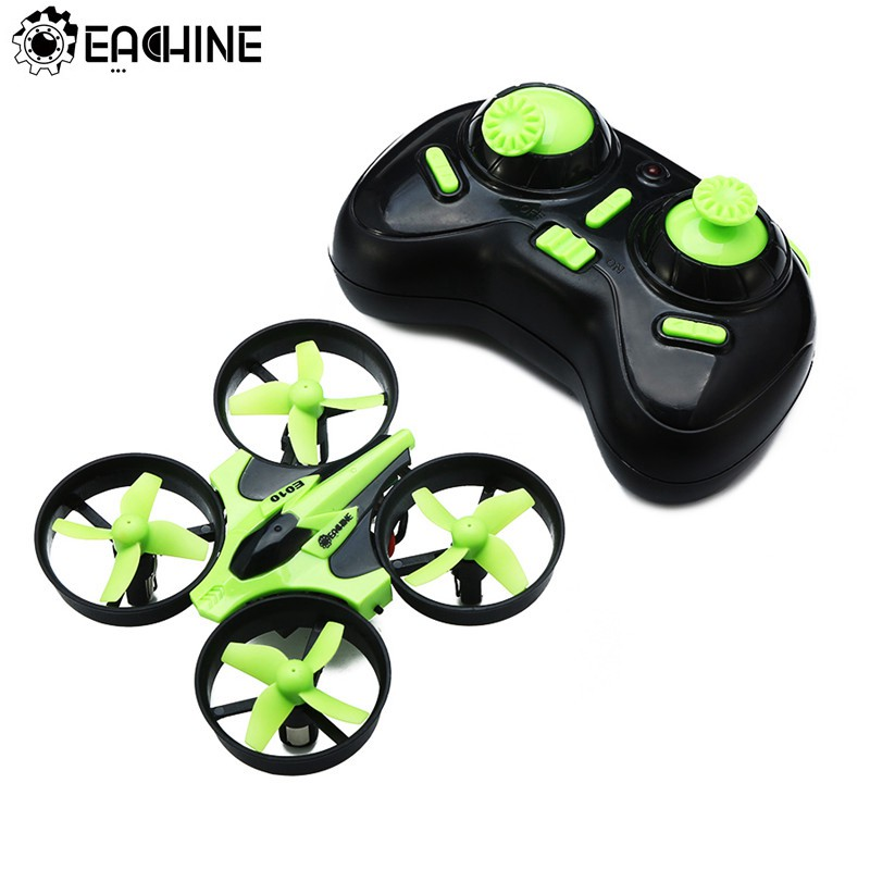 Eachine E010 Mini Drone 2.4G 4CH 6 Axis 3D Headless Mode Geheugenfunctie Rc Quadcopter Rtf Tiny Gift Present kid Speelgoed 1