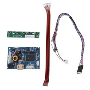 1Set HdMI Lvds Controller Board Driver 40 Pin Lvds Cable Kit for Raspberry PI 3 LP156WH2 TLA1 TLE1 1366x768 7-42