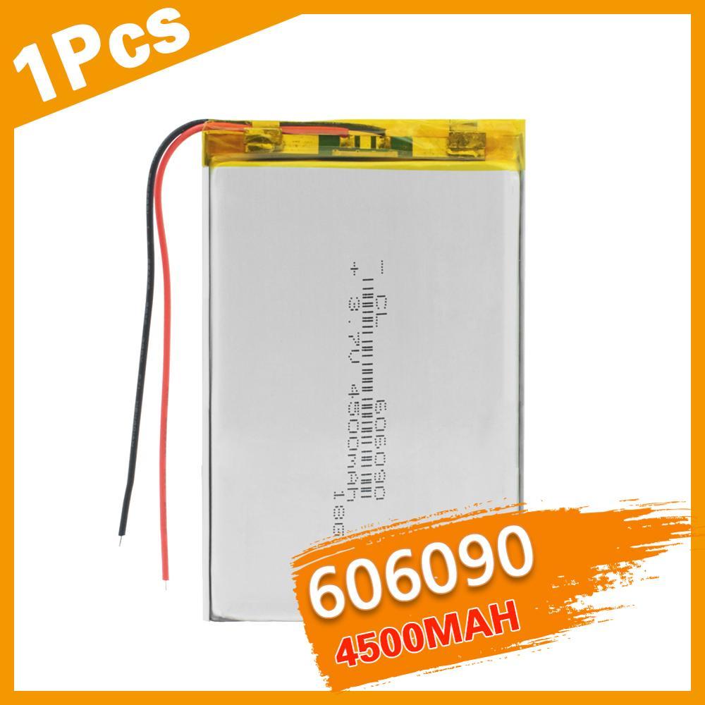 Литий-ионная аккумуляторная батарея 3,7 в 606090 4500 мАч, литий-ионная аккумуляторная батарея с печатной платой для планшета GPS, DVD PAD, внешний акку...