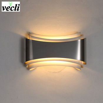 Modern LED Wall Lamp For  Bedroom 5W Wall Sconce living room  AC85-265V LED Wall Light Indoor Lighting Corridor Balcony  Sconce цена 2017