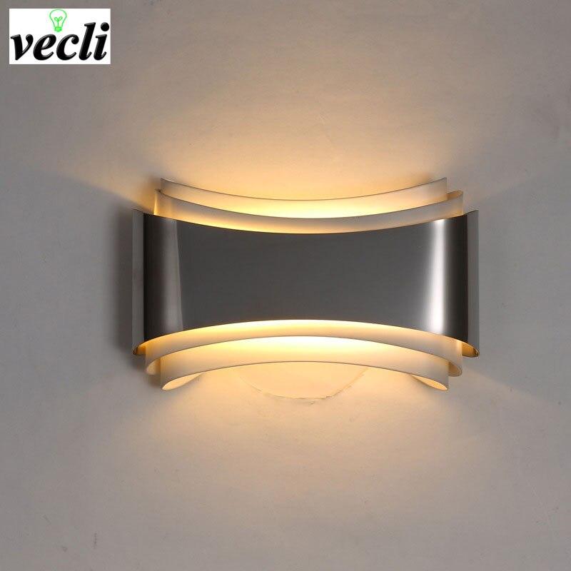 Modern LED Wall Lamp For Bedroom 5W Wall Sconce living room AC85-265V LED Wall Light Indoor Lighting Corridor Balcony Sconce