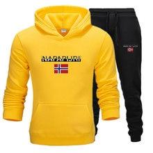 New autumn winter men's sets 2 piece hoodies+pants harajuku
