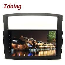 "Idoing 9 ""Android 9.0 araba GPS Player için Mitsubishi Pajero V97 V93 2006 2011 8 çekirdek 4GB + 32G otomobil radyosu multimedya NAVI"