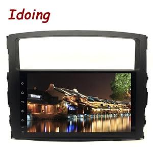 """Image 1 - Idoing 9 """"Android 9.0 di Gps Dellautomobile Player per Mitsubishi Pajero V97 V93 2006 2011 con 8Core 4 gb + 32G Auto Radio Multimedia Navi"""