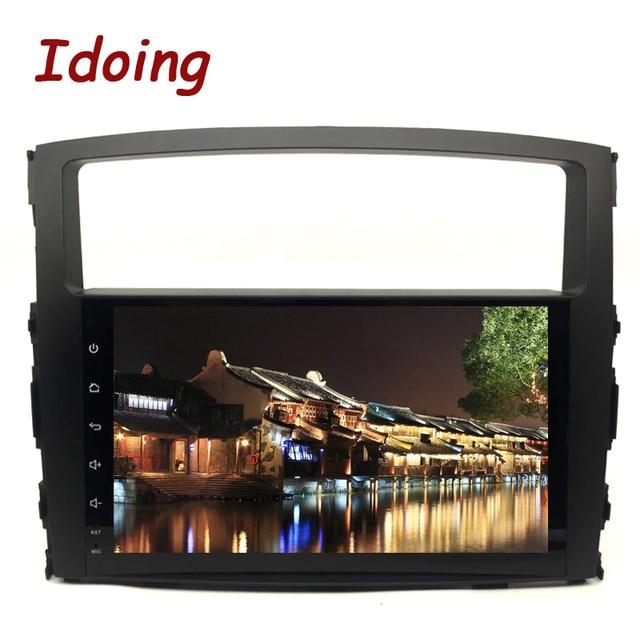 """Idoing 9 """"Android 9.0 di Gps Dellautomobile Player per Mitsubishi Pajero V97 V93 2006 2011 con 8Core 4 gb + 32G Auto Radio Multimedia Navi"""