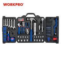 Vender WORKPRO 201PC herramienta casa instrumentos mano Set de herramientas para enchufes de trinquete llaves inglesas alicates, destornilladores