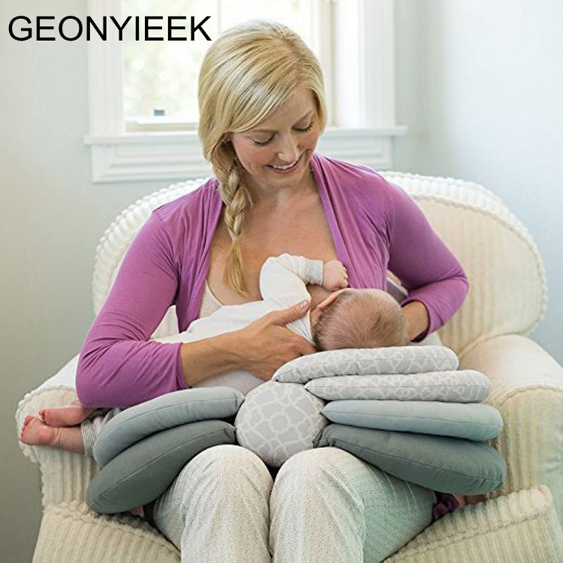 Baby Breastfeeding Pillows Multifunction Nursing Layered Washable Cover Adjustable Model Cushion Infant Feeding Pillow Baby Care