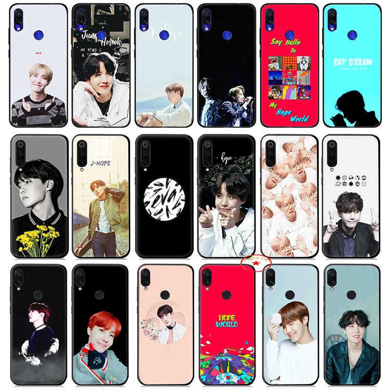 J esperança Jung Ho Seok K Pop Caso Silicone Suave para Xiaomi Redmi K20 S2 7A 6A 6 Pro 5 além de 5A para Redmi IR 4A 4X