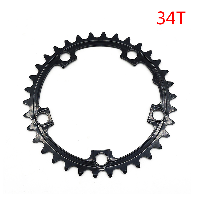 Black Electric Bicycle Chains Ring Wheel For Tongsheng TSDZ2 Motor Accessories