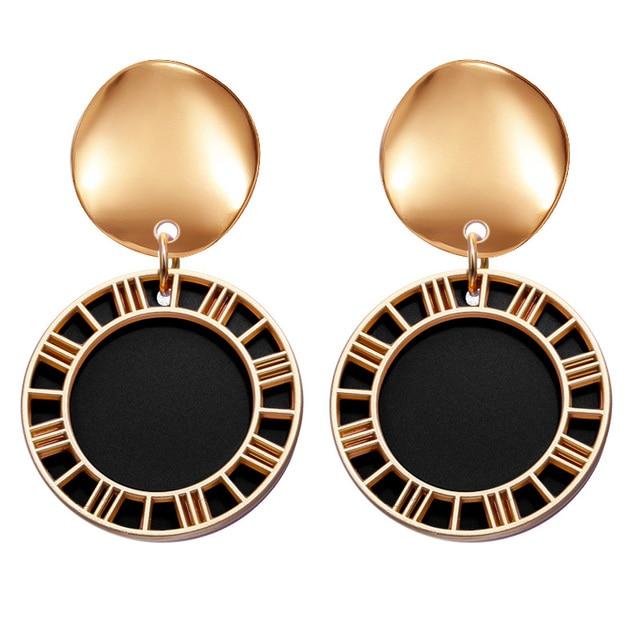Fun geometric earring 4