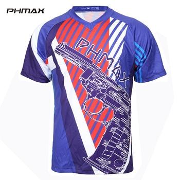 PHMAX-ropa para ciclismo, transpirables camisetas deportivas de secado rápido, camisetas DH para ciclismo, ropa, camisetas para hombre