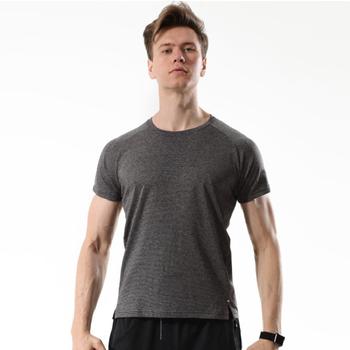 Szybkie suche dopasowanie męskie koszulki do biegania oddychające koszulki Running Slim dopasowane koszulki koszulki sportowe Polo koszulka do gry w tenisa trening na świeżym powietrzu nosić tanie i dobre opinie JUNJIAN Wiosna Lato Poliester Pasuje prawda na wymiar weź swój normalny rozmiar training basketball running active yoga