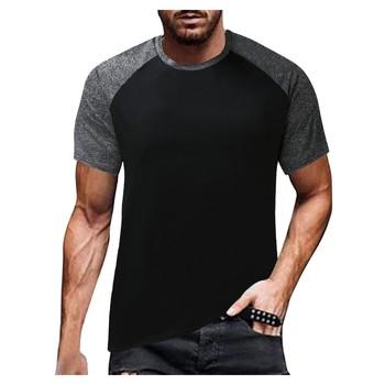 Męskie koszulki do biegania 3d-drukowane z krótkim rękawem t-shirty sportowe Fitness Gym koszulki do biegania koszulki piłkarskie męska koszulka Streetwear tanie i dobre opinie CASUAL SHORT CN (pochodzenie) POLIESTER Na wiosnę i lato Na co dzień Z okrągłym kołnierzykiem tops Z KRÓTKIM RĘKAWEM
