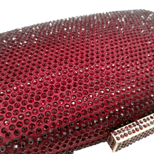 Image 4 - Boutique De FGGไวน์สีแดงเพชรผู้หญิงเย็นกระเป๋าและClutchesสุภาพสตรีค็อกเทลคริสตัลคลัทช์กระเป๋าปาร์ตี้