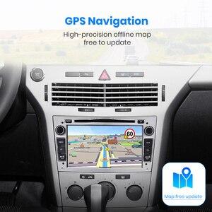 Image 3 - Junsun Android9.0 GPS RDS 2 + 32GB opcjonalnie dla opla Astra Vectra Corsa Antara Vivaro Zafira Meriva 2 din radioodtwarzacz samochodowy odtwarzacz DVD