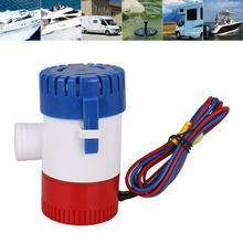 Новый 1100GPH 12V электрический погружной морской трюмный Колодезный водяной насос с переключателем для лодки помогает исключить льяльных вод инструменты