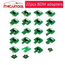 OBD2 Diagnsotic LED BDM מסגרת בדיקות עבור BDM100 fgtech שבב Tunning עם 22pcs BDM מסגרת מתאם מאסטר ECU CMD תכנות