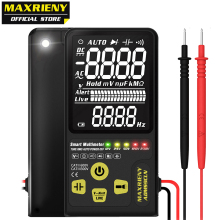 Digital Multimeter Voltmeter ADMS9CLN Dual Mode EBTN Display multimetro Voltage Frequency Resistance Capacitor Diode NVC Tester