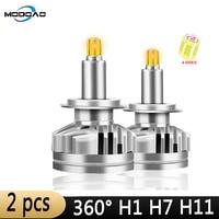 3D 360 degree 18000LM H11 Fog lights H7 LED Headlight HB3 9005 HB4 H3 880 881 Led Canbus Led Car Headlights H1 9012 Auto Lamps