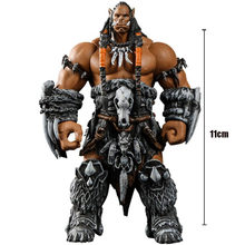 World Of Warcraft Wow Orc Leader Durotan Confederated Tribes Action Figures Arm Rotatable Kits Plastic Model Toys For Kids Gifts