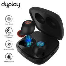 TWS Bluetooth V5.0 aptx Auto Pairing Touch Control Earphones True Wireless Stereo with Earbuds Charging Case цены