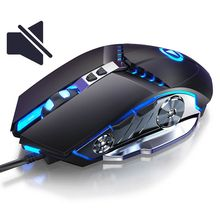 цена на 3200 DPI Professional Wired Gaming Mouse Silent Computer Mouse Gamer For Computer PC Mice Laptop Optical Mouses For LOL CS DOTA