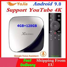 Android 9.0 TV Box 4GB RAM Max 128GB ROM 64GB RK3318 4Core 5G double Wifi 2G16G décodeur YouTube Smart 4K lecteur multimédia X88 PRO(China)