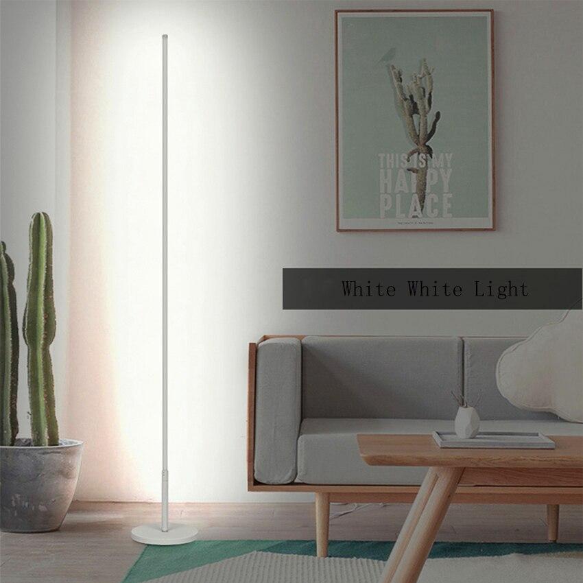 Moderna Lampada da Terra a Led Dimming Soggiorno Sala da Pranzo Camera da Letto Comodino Studio in Metallo Indoor Decor Led Piano Luce di Illuminazione Lampada in Piedi - 6