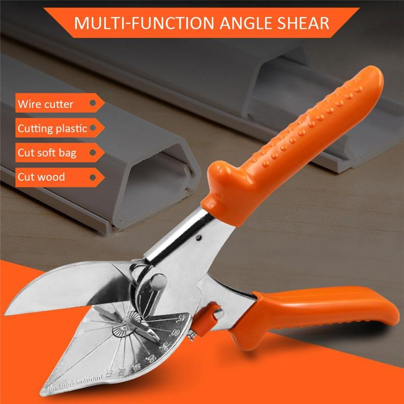 45-180 Degree Multi Angle Mitre Siding Wire Duct Cutter PVC PE Plastic Pipe