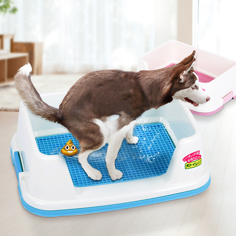 HOOPET Dog Toilet Puppy Dog Potty Tray Indoor Litter Boxes Easy To Clean Pet Product Training Toilet