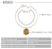 Constelações série cartão colar de jóias para homens mulher ouro cor bola aquário sinal doze constelações moeda colares