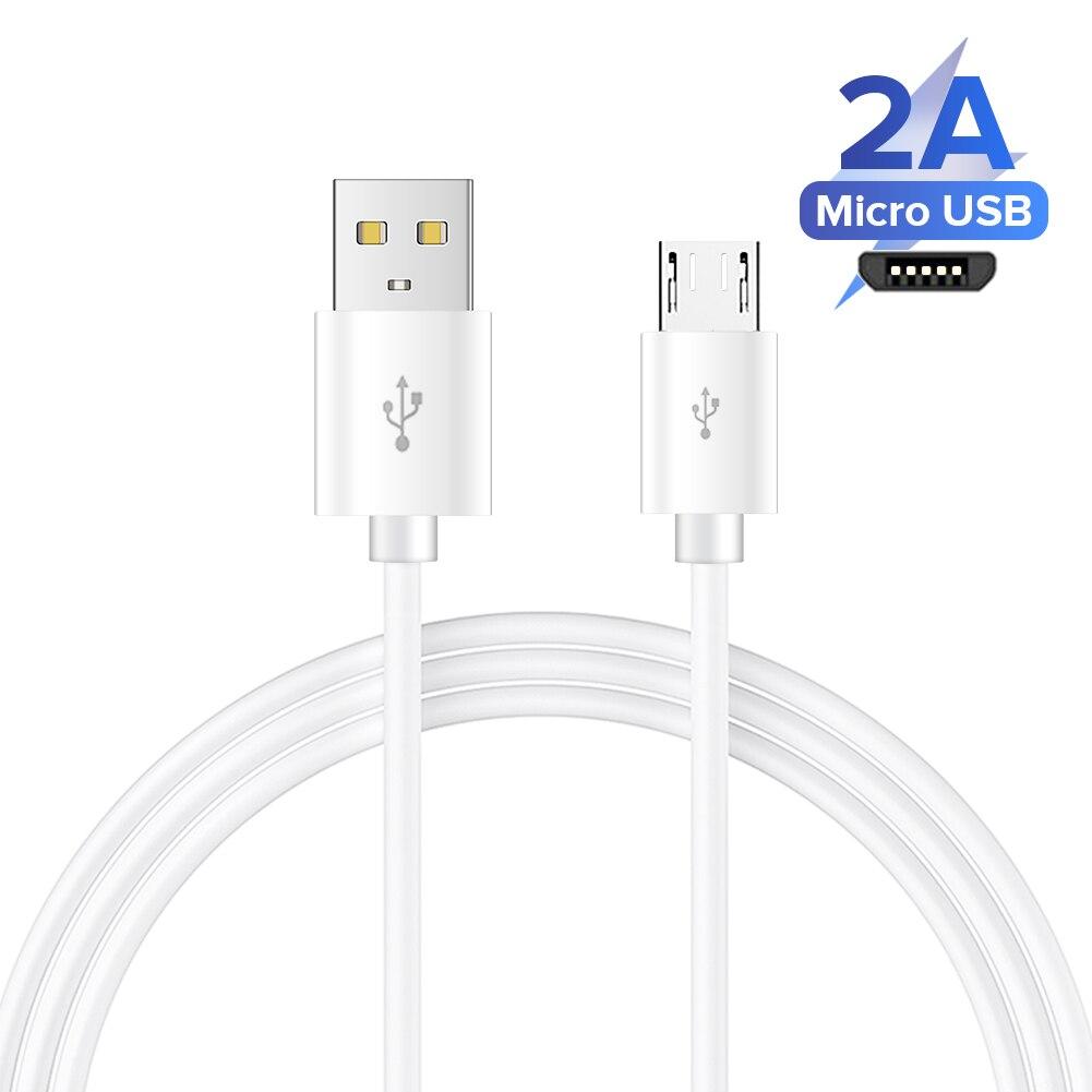 Micro cabo usb 6a carregamento rápido para xiaomi redmi note5 pro android cabo de dados do telefone móvel para samsung micro carregador 1/2/3m