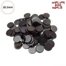 Bases redondas de 28.5mm para miniaturas do jogo e bases redondas dos jogos de mesa 28.5mm