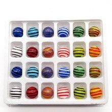 New Custom hand made Murano glass Marbles balls ornaments aquarium garden decor vase filled glass ball children puzzle game toys