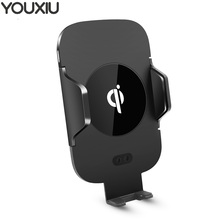 YOUXIU Fast Wireless Car Charger Phone Mount Holder,Air Vent Phone Qi Certified N9 Compatible with iPhone Xs Xr Xs Max Phone 8 x