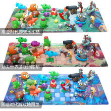 Растения против Зомби ПВХ Фигурка Набор Коллекционная мини фигурка модель игрушки подарки игрушки для детей Brinquedos игрушка без коробки