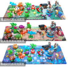 Plants Vs Zombies Pvc Action Figure Set Collectible Mini Figure Model Toy Gifts Toys For Children Brinquedos Toy No Box horror movie toys the crow brandon lee eric draven vs top dollar neca action figure pvc collectible model toy