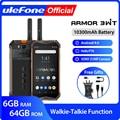 Ulefone Armor 3WT прочный мобильный телефон  Android 9 0  6 ГБ 64 ГБ  10300 мАч  NFC 4G  мобильный телефон Globalvision