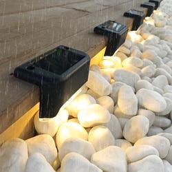 Солнечная Лестница светильник на открытом воздухе Водонепроницаемый светодиодный садовый светильник на солнечной батарее светильник тер...