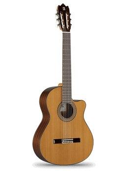 Guitarra clásica con pastilla, Alhambra 6.855 cutaway 3C CW E1